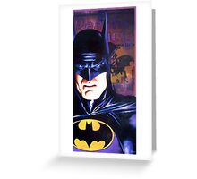 "Alex Ross ""Tribute"" BATS COVER Greeting Card"