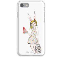 ALMA GEFEN LITTLE LIONESS/ ARIEL BUNNY iPhone Case/Skin