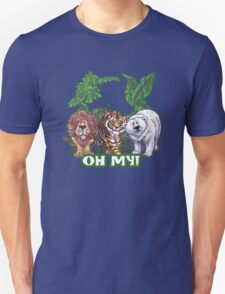 Lions Tiger and Bear Oh My T-Shirt