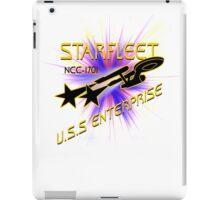 Starfleet U S S  Enterprise iPad Case/Skin