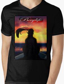 Baylife Mens V-Neck T-Shirt