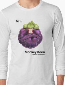 Mm - Monkeysteen // Half Monkey, Half Mangosteen Long Sleeve T-Shirt