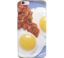 Eggs and Salsa  iPhone Case/Skin