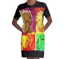 WILLIAM BLAKE COLLAGE: ENGLISH POET, WRITER, ARTIST Graphic T-Shirt Dress