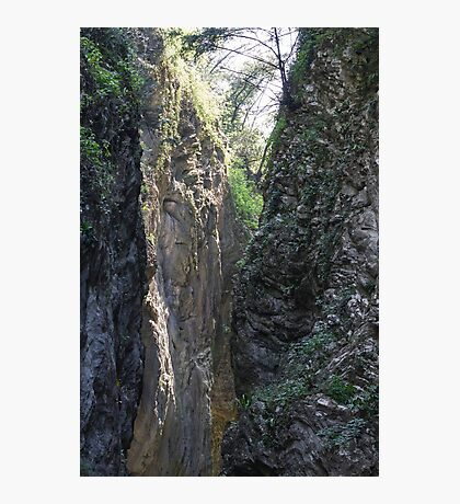 canyon in the mountain Photographic Print