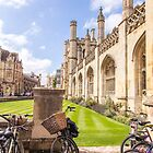 Bike parking with a view: King's College, Cambridge by Zoe Power