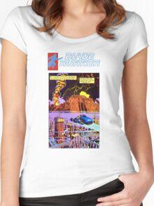 Blade Runner Comics Women's Fitted Scoop T-Shirt