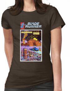 Blade Runner Comics Womens Fitted T-Shirt