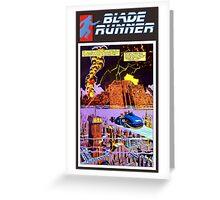Blade Runner Comics Greeting Card