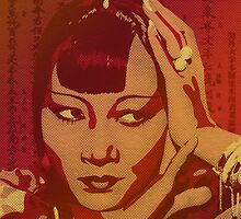 Anna May Wong by Kailey Slemp