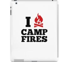 I Love Campfires iPad Case/Skin