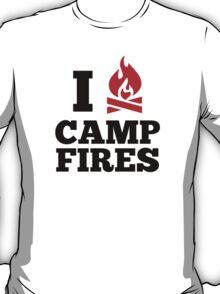 I Love Campfires T-Shirt