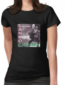 L Calling (vinyl square version) Womens Fitted T-Shirt