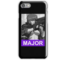 Major Motoko Anime Manga Shirt iPhone Case/Skin