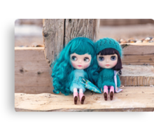 Blythes by the seaside Canvas Print