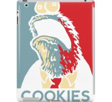 COOKIES we can believe in! iPad Case/Skin
