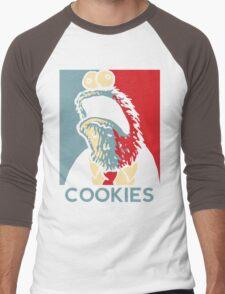 COOKIES we can believe in! Men's Baseball ¾ T-Shirt