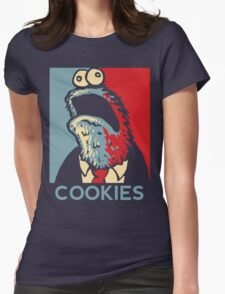 COOKIES we can believe in! Womens Fitted T-Shirt