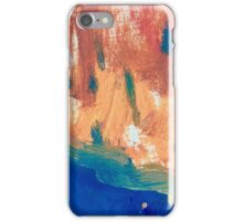Deep Blue Waters Edge  iPhone Case/Skin