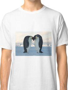 Emperor Penguin Courtship Classic T-Shirt