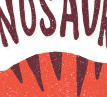 Save the Dinosaurs Sticker