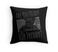 Are You Ready? Throw Pillow