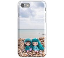 Blythes on the beach iPhone Case/Skin