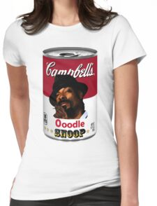 Ooodle Snoop : Can 01 Womens Fitted T-Shirt