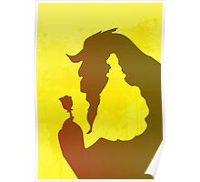 Love Inspired Silhouette Poster