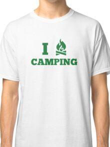 I Love Camping Classic T-Shirt
