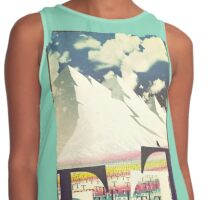 valley of tees old poster Contrast Tank
