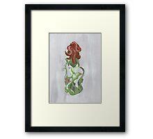 Poison Kiss Framed Print