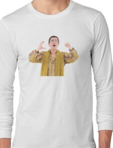 PPAP - PEN PINEAPPLE APPLE PEN - BEST MEME, DANK MEME, BEST SELLING, TOP SELLER, HIGH RESOLUTION! Long Sleeve T-Shirt