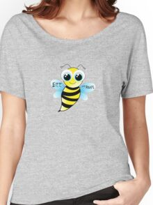 Be strong - cute bee animal cartoon Women's Relaxed Fit T-Shirt