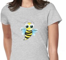 Be strong - cute bee animal cartoon Womens Fitted T-Shirt