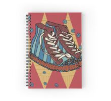 Funky shoes Spiral Notebook