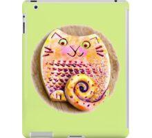 Ginger cat iPad Case/Skin