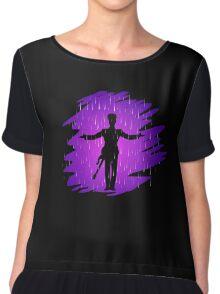 Purple Rain - Prince  Chiffon Top