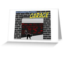 Manomtr Garage Greeting Card
