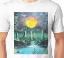 Spray Paint Art- Scorching Sun Unisex T-Shirt