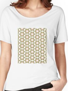Christmas Crown Pattern Women's Relaxed Fit T-Shirt