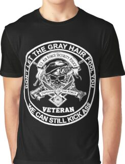 Veteran - United States Air Force Security Forces Graphic T-Shirt
