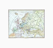 Vintage Map of Europe (1899) Unisex T-Shirt