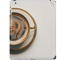 A cup of coffee iPad Case/Skin