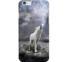 Stars Lie Hidden In Your Soul (Wolf Howl Galaxy) iPhone Case/Skin