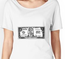 One Dollar US Women's Relaxed Fit T-Shirt