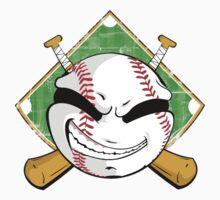 Baseball Logo One Piece - Long Sleeve