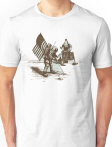 Apollo Moon Landing Vintage Space Cartoon Unisex T-Shirt