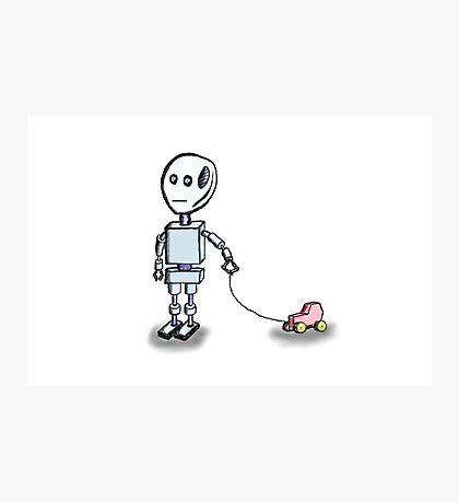 Robot Child Photographic Print