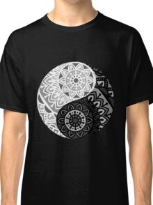 shape of symbol yin yang Classic T-Shirt